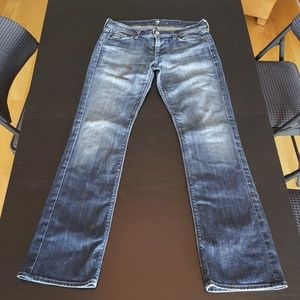 7 for all Mankind 30 size straight leg jeans